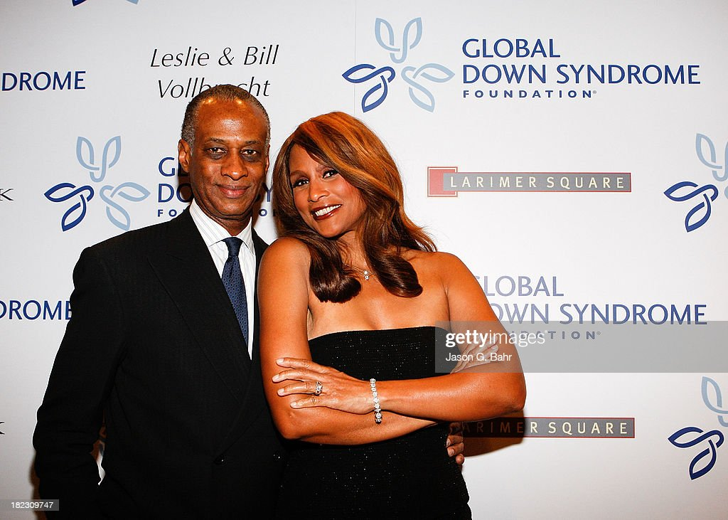 <a gi-track='captionPersonalityLinkClicked' href=/galleries/search?phrase=Beverly+Johnson&family=editorial&specificpeople=206659 ng-click='$event.stopPropagation()'>Beverly Johnson</a> arrives with her date to the Global Down Syndrome Foundation's Be Yourself Be Beautiful Fashion Show at Sheraton Downtown Denver Hotel on September 28, 2013 in Denver, Colorado.