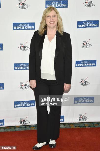 Beverly Keel of Middle Tennessee State University arrives at the 2017 Nashville Business Journal Women In Music City on October 17 2017 in Nashville...