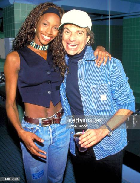 Beverly Peel and David Lee Roth during Beverly Peel and David Lee Roth at Tunnel 1994 at Tunnel in New York City New York United States