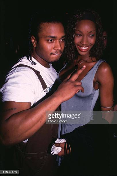 Beverly Peele and fiance Jeff Alexander during Beverly Peele with fiance at Club USA 1994 at Club USA in New York City New York United States