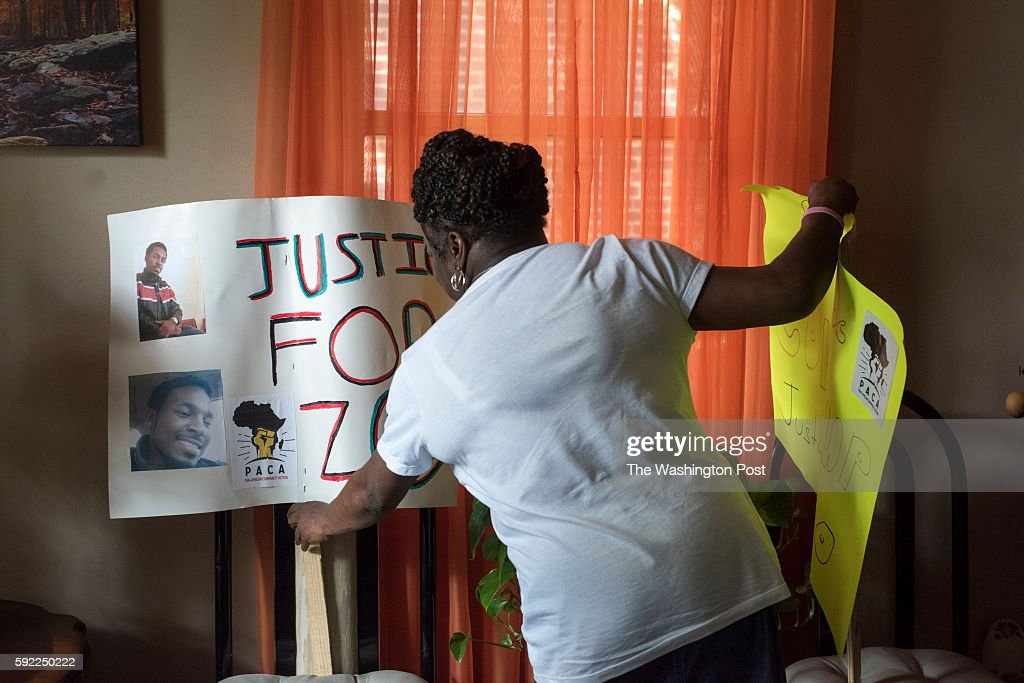 Beverly Smith lost her son Alonzo Fiero Smith last fall while he was in the custody of law enforcement She is photographed in her home in Washington...