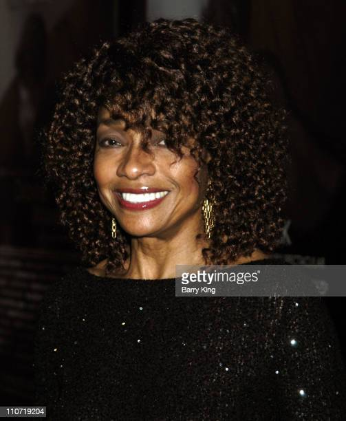 Beverly Todd during Dionne Warwick 45th Anniversary Spectacular Inside at Kodak Theatre in Hollywood California United States