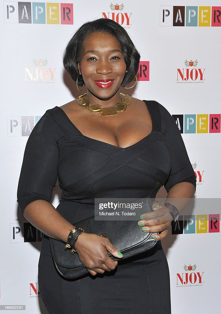 Bevy Smith attends Paper Magazine's 16th Annual Beautiful People Party at Top of The Standard Hotel on April 2, 2013 in New York City.