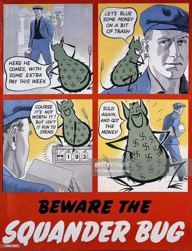 Beware the Squander Bug 1943