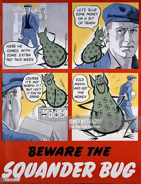 Beware the Squander Bug 1943