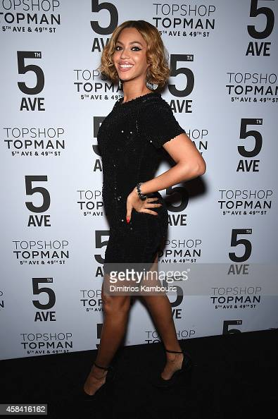 Beyoncé Knowles attends the Topshop Topman New York City flagship opening dinner at Grand Central Terminal on November 4 2014 in New York City