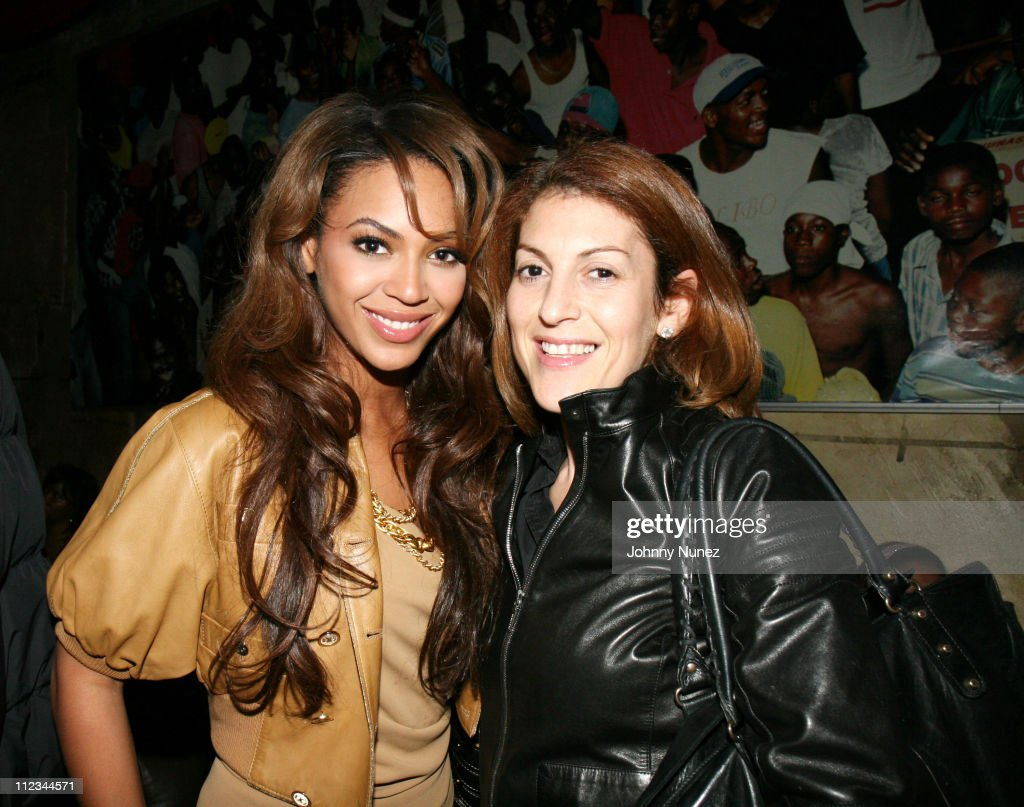 Beyonce and Julie Greenwald during Tocarra's 25th Birthday Party, hosted by Mike Kyser - March 3, 2007 at PM Nightclub in New York City, New York, United States.