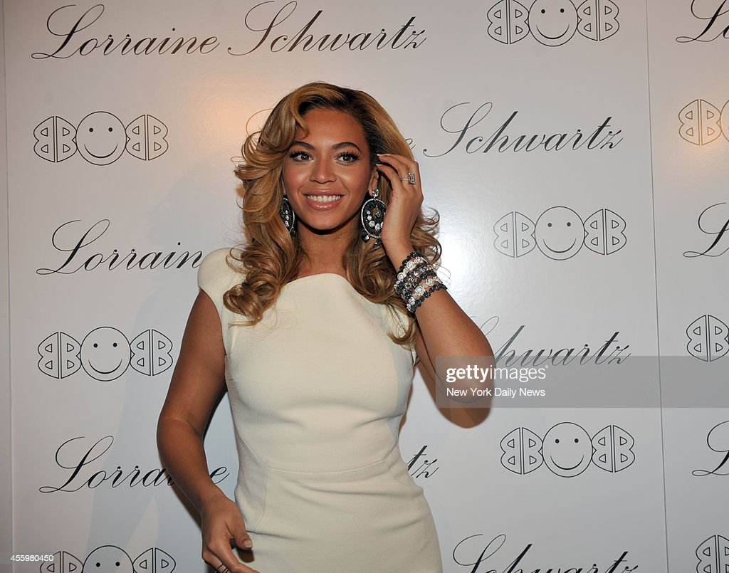 Beyonce at the Lorraine Schwartz '2BHAPPY' Launch Event held at Lavo