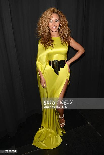 Beyonce attends the 2012 BET Awards at The Shrine Auditorium on July 1 2012 in Los Angeles California