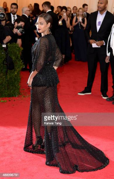 Beyonce attends the 'Charles James Beyond Fashion' Costume Institute Gala held at the Metropolitan Museum of Art on May 5 2014 in New York City
