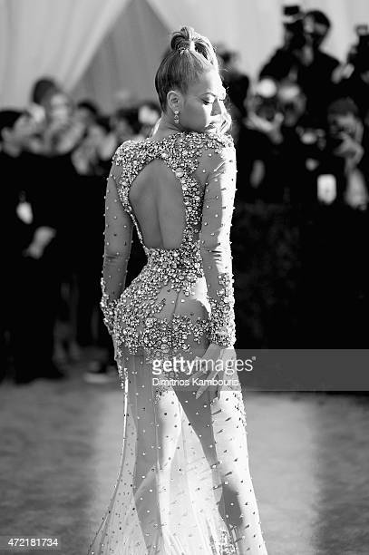 Beyonce attends the 'China Through The Looking Glass' Costume Institute Benefit Gala at the Metropolitan Museum of Art on May 4 2015 in New York City
