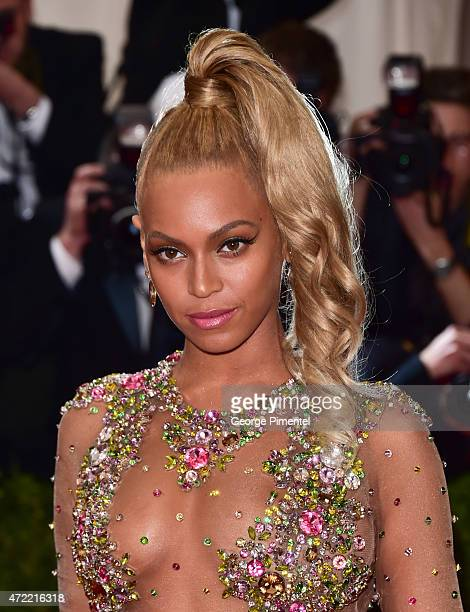 Beyonce attends the 'China Through The Looking Glass' Costume Institute Benefit Gala at Metropolitan Museum of Art on May 4 2015 in New York City