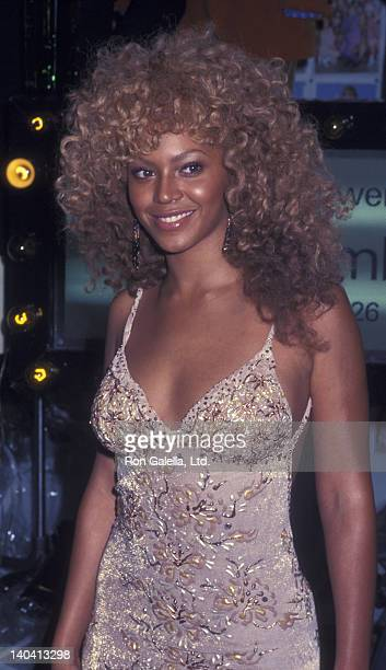 Beyonce attends the screening party for 'Austin Powers in Goldmember' on July 24 2002 at Barney's in New York City