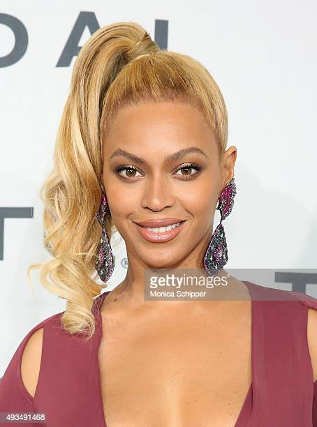 Beyonce attends TIDAL X 1020 at Barclays Center on October 20 2015 in the Brooklyn borough of New York City