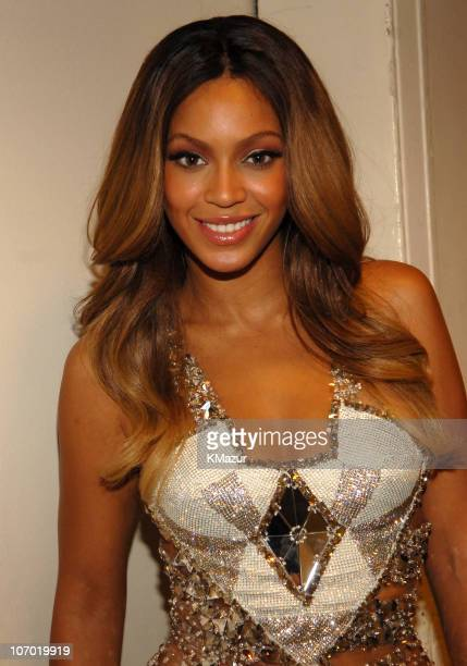 Beyonce during 2006 MTV Video Music Awards Audience and Backstage at Radio City Music Hall in New York City New York United States