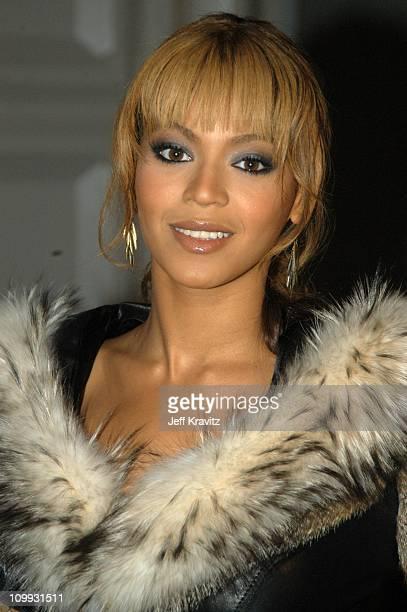 Beyonce during MTV Europe Music Awards 2003 Arrivals at Ocean Terminal Arena in Edinburgh Scotland