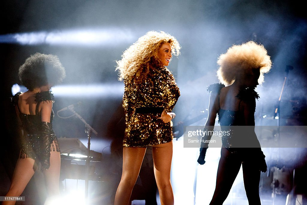 Beyonce headlines the Pyramid Stage at the Glastonbury Festival at Worthy Farm, Pilton on June 26, 2011 in Glastonbury, England. The festival, which started in 1970 when several hundred hippies paid 1 GBP to attend, has grown into Europe's largest music festival attracting more than 175,000 people over five days.