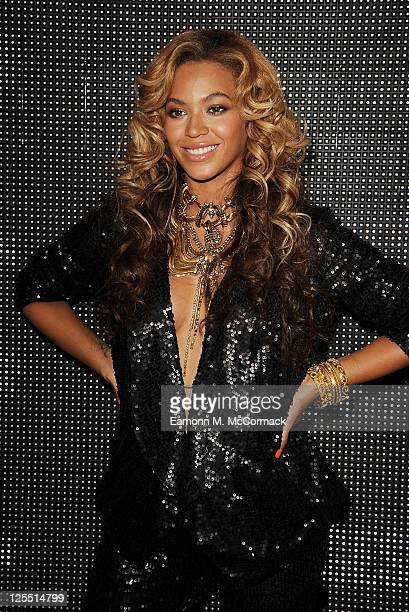 Beyonce Knowles at The Launch Of House Of Dereon By Beyonce And Tina Knowles at Selfridges on September 17 2011 in London England