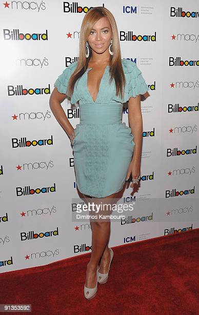Beyonce Knowles attends Billboard's 4th Annual Women In Music event at The Pierre Hotel on October 2 2009 in New York City