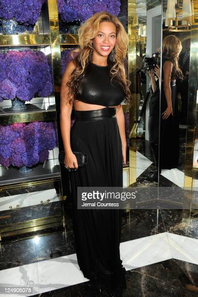 Beyonce Knowles attends the Tory Burch Madison Avenue Flagship Opening on September 13 2011 in New York City