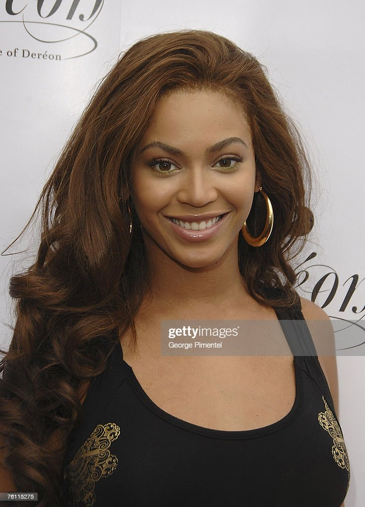 Beyonce Knowles attends the Ultra Supper Club in Toronto where she was joined by her mother and sister for the Canadian launch of their junior...