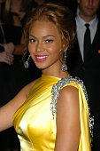 Beyonce Knowles during 2004 CFDA Fashion Awards Outside Arrivals at New York Public Library in New York City New York United States