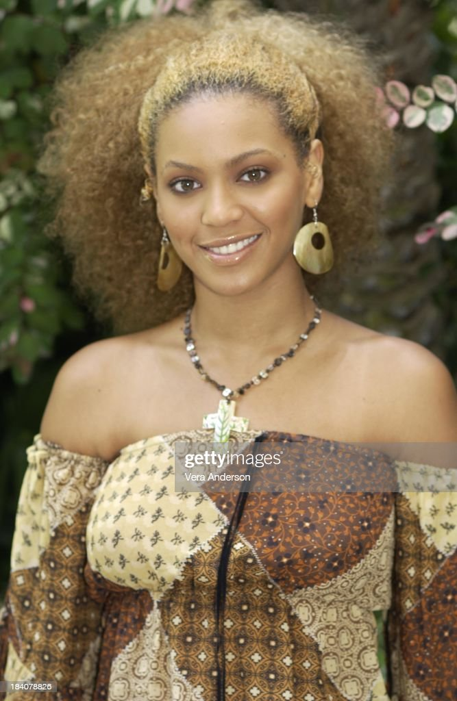 Beyonce Knowles during Austin Powers in Goldmember Press Conference with Beyonce Knowles Mike Myers Michael York Robert Wagner and Jay Roach at Four...