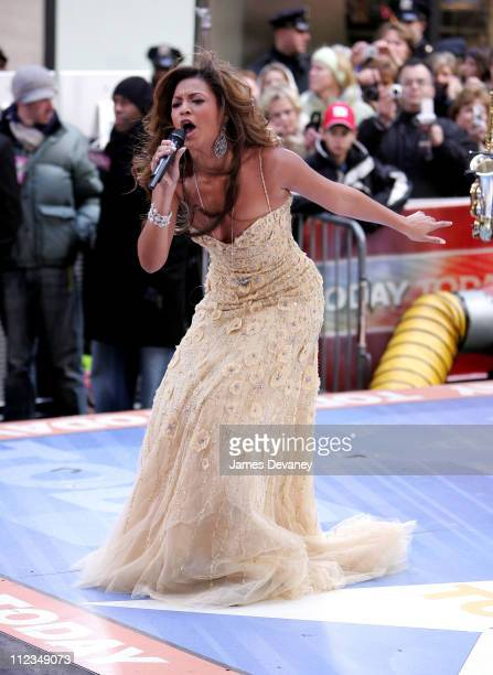 Beyonce Knowles during Beyonce Performs on NBC's 'The Today Show' December 4 2006 at Rockefeller Center in New York City New York United States
