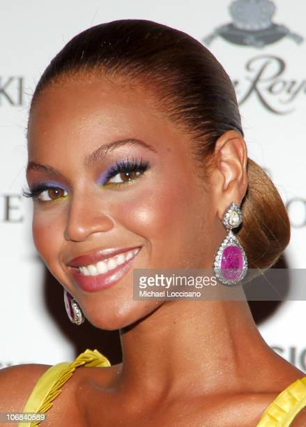 Beyonce Knowles during Crown Royale Presents 'Beyonce Beyond The Red Carpet' An Auction and Exhibition of Beyonce's Iconic Dresses and Costumes at...