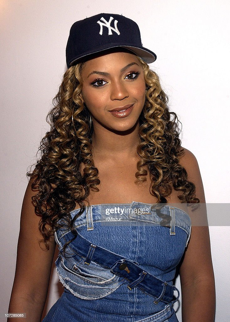 Beyonce Knowles during 'Spankin' New Music Week' with Jay-Z, Beyonce ... Beyonce Knowles