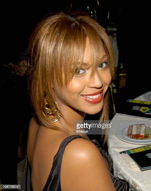 Beyonce Knowles during Spike TV Presents the 2003 GQ Men of the Year Awards Audience at The Regent Wall Street in New York City New York United States