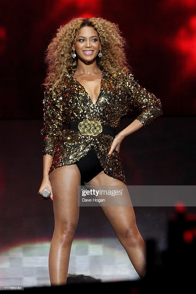 Beyonce Knowles performs at the Glastonbury Festival at Worthy Farm Pilton on June 26 2011 in Glastonbury England The festival which started in 1970...