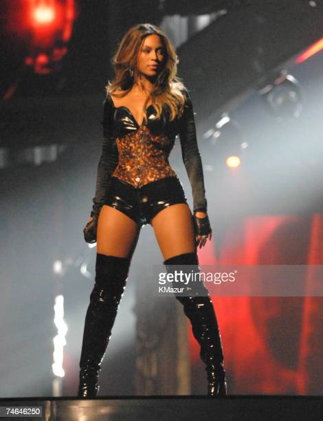 Beyonce Knowles performs 'Ring the Alarm' at the Radio City Music Hall in New York City New York