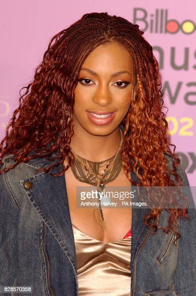 Beyonce Knowles' sister Solange poses for photographers during the Billboard Music Awards at the MGM Grand Hotel in Las Vegas The awards in it's 14th...