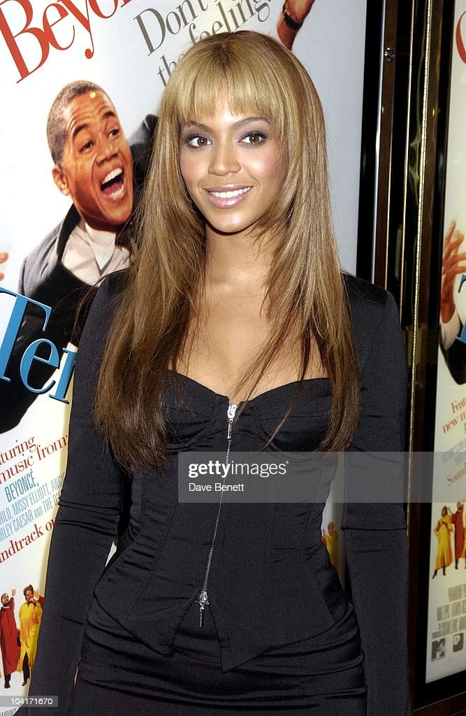 Beyonce Knowles, 'The Fighting Temptations' Premiere, Empire Leicester Square, London