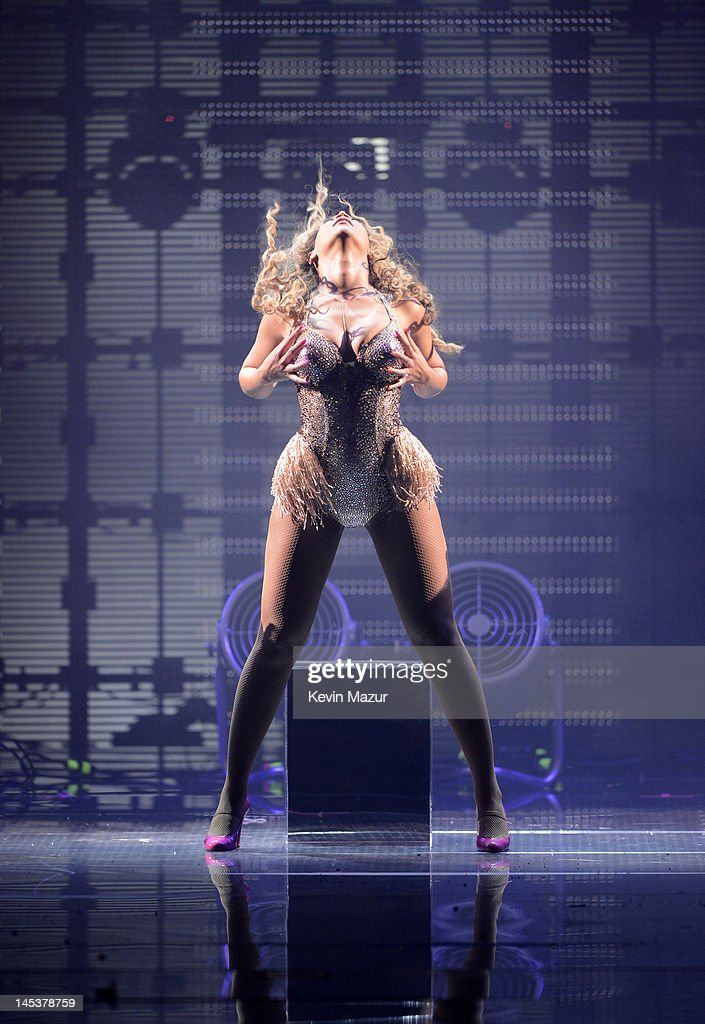Beyonce performs on stage at Ovation Hall at Revel on May 26, 2012 in Atlantic City, New Jersey.