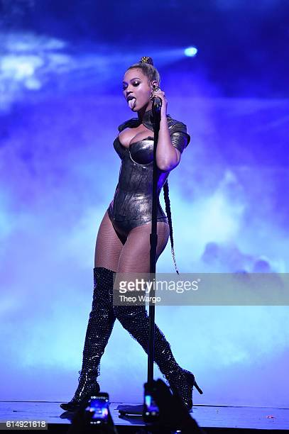 Beyonce performs onstage during TIDAL X 1015 on October 15 2016 in New York City