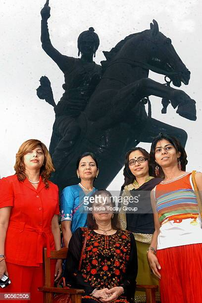 Bhagyesh Soneji Dipti Shah Vanita Rama Vandna Raj Manini Shah Business Women in Ahmedabad Gujarat India