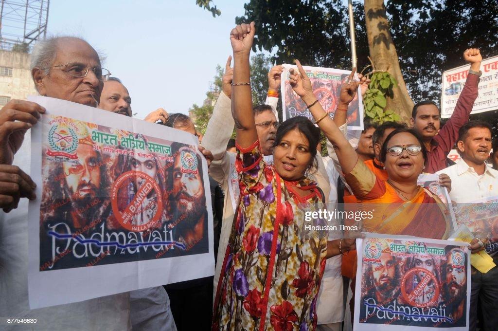 Bharat Kshatriya Samaj Protest Against Film Padmavati In Kolkata