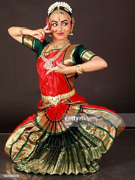 Bharatanatyam Dancing Stock Photos and Pictures