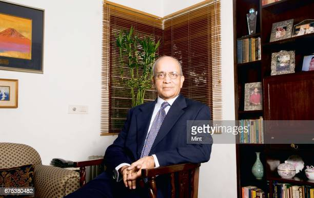 Bhargava Chairman of Maruti Suzuki India limited photographed at his residence in Noida