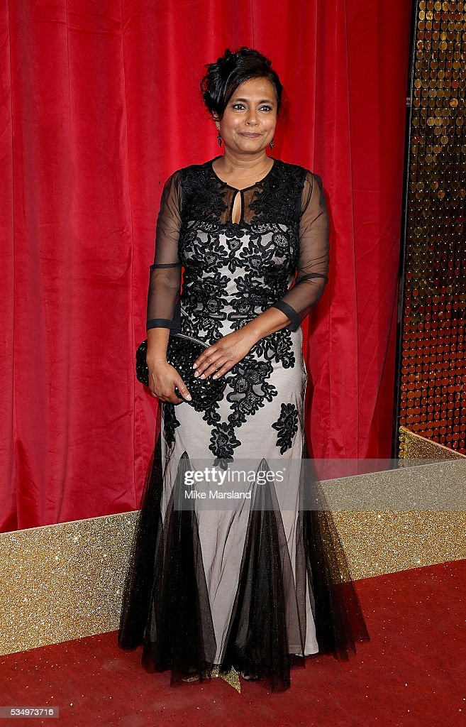 Bharti Patel attends the British Soap Awards 2016 at Hackney Empire on May 28, 2016 in London, England.