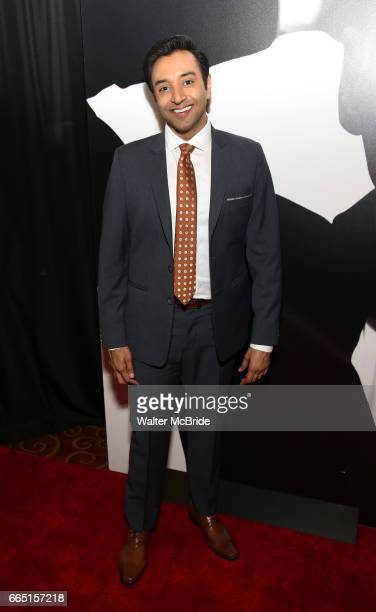 Bhavesh Patel attends Broadway Opening Night After Party for 'Present Laughter' at Gotham Hall on April 5 2017 in New York City