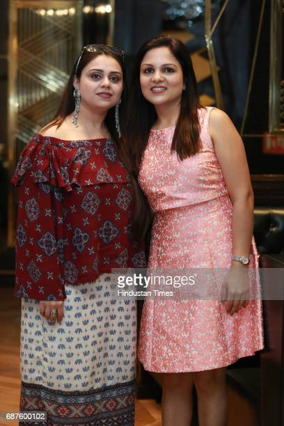 Bhavna Dhingra and Chetna Kohli during the launch of new South American restaurant Nueva at Sangam Courtyard on May 20 2017 in New Delhi India