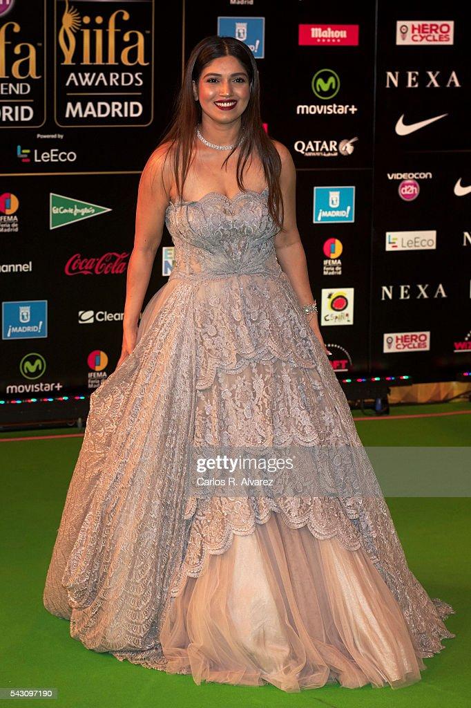Bhumi Pednekar attends the 17th IIFA Awards (International Indian Film Academy Awards) at Ifema on June 25, 2016 in Madrid, Spain.