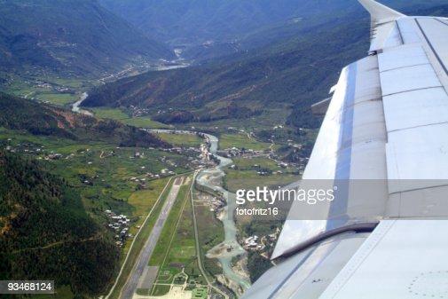 Bhutan, Airport : Stock Photo