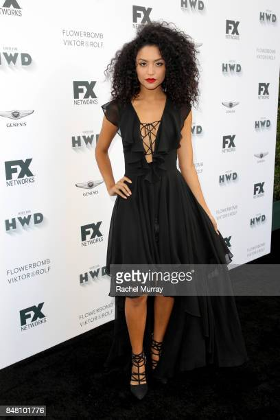 Bianca A Santos attends FX Networks celebration of their Emmy nominees in partnership with Vanity Fair at Craft on September 16 2017 in Century City...