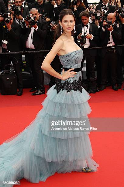 Bianca Balti arrives at 'Cafe Society' Opening Gala of the 69th Annual Cannes Film Festival on May 11 2016 in Cannes
