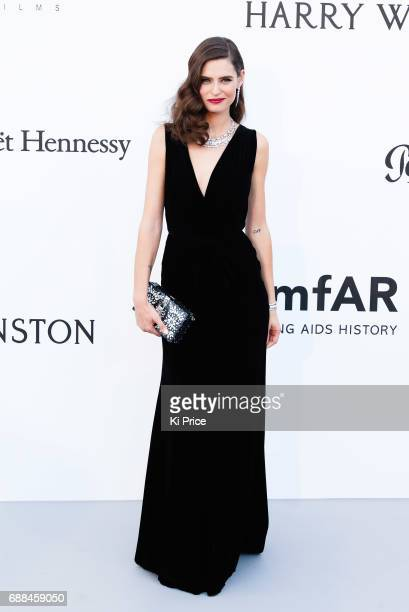 Bianca Balti arrives at the amfAR Gala Cannes 2017 at Hotel du CapEdenRoc on May 25 2017 in Cap d'Antibes France