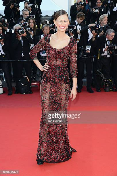Bianca Balti arrives at 'Venus In Fur' Premiere during the 66th Annual Cannes Film Festival at Grand Theatre Lumiere on May 25 2013 in Cannes France